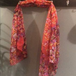 Butterfly Scarf with multi colors.